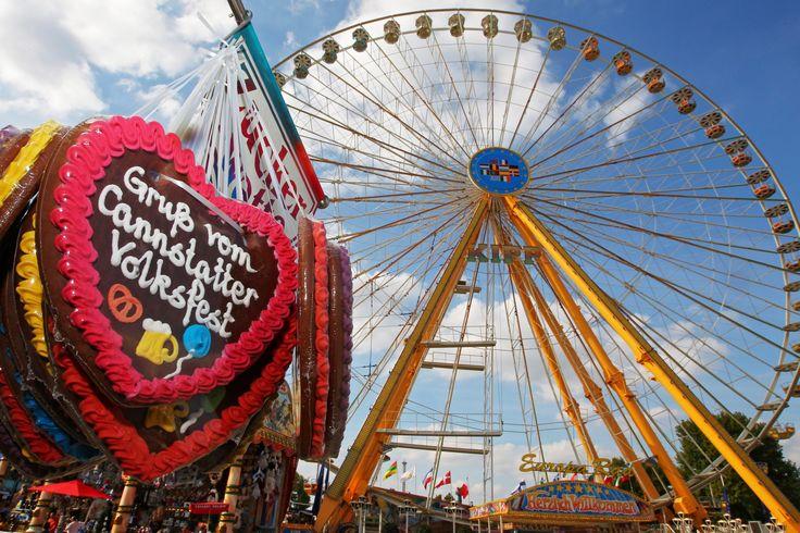 Auf zum Cannstatter Wasen! Vom 22.09. bis 08.10. lädt dort wieder eines der größten Volksfeste der Welt zum Feiern ein – mit Festzelten, Fahrgeschäften, Krämermarkt und Leckereien. Mehr unter: http://www.cannstatter-volksfest.de ©in.Stuttgart/Thomas Niedermüller