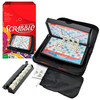 Travel Scrabble - a portable version of the classic!