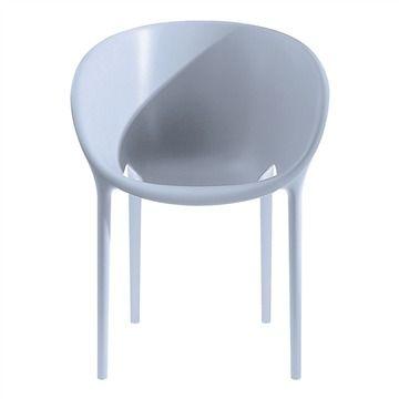 Driade Soft Egg Dining Chair - Style # 98517xx, Modern Outdoor Dining Chairs – Contemporary Outdoor Dining Chairs – Outdoor Dining Furniture   SwitchModern.com