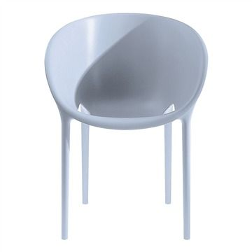 Driade Soft Egg Dining Chair - Style # 98517xx, Modern Outdoor Dining Chairs – Contemporary Outdoor Dining Chairs – Outdoor Dining Furniture | SwitchModern.com