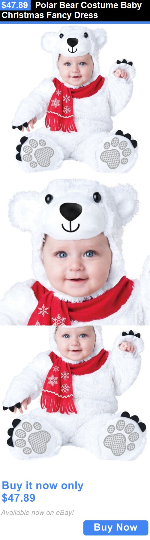 Kids Costumes: Polar Bear Costume Baby Christmas Fancy Dress BUY IT NOW ONLY: $47.89