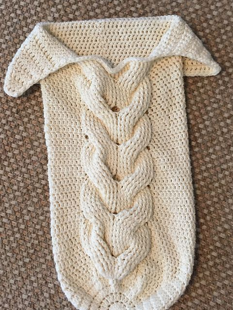 11 best baby buntings images on Pinterest   Filet crochet, Knit ...
