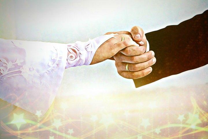 wedding, event, hands, romantic