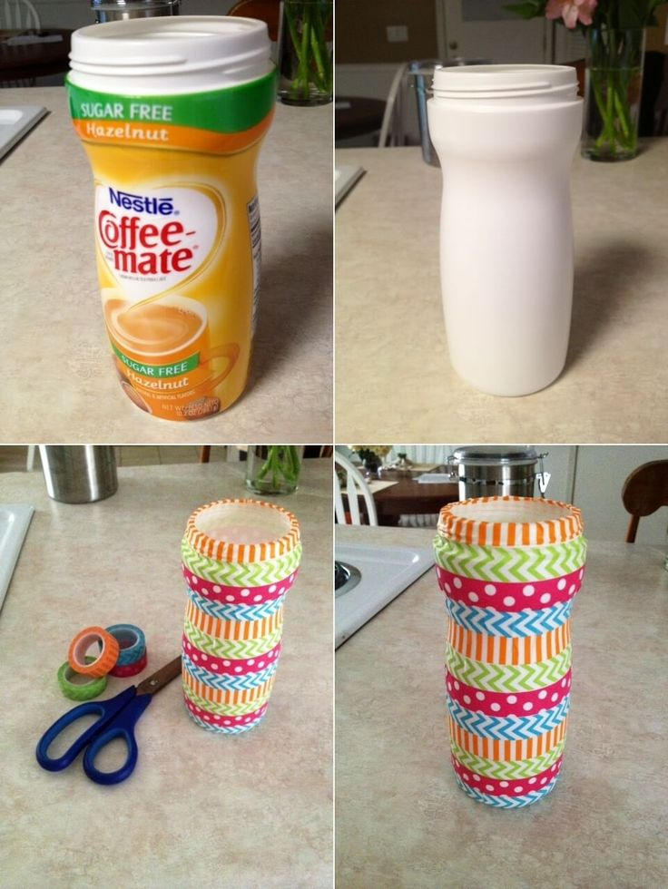 What To Do With Old Coffee Creamer Bottles 7