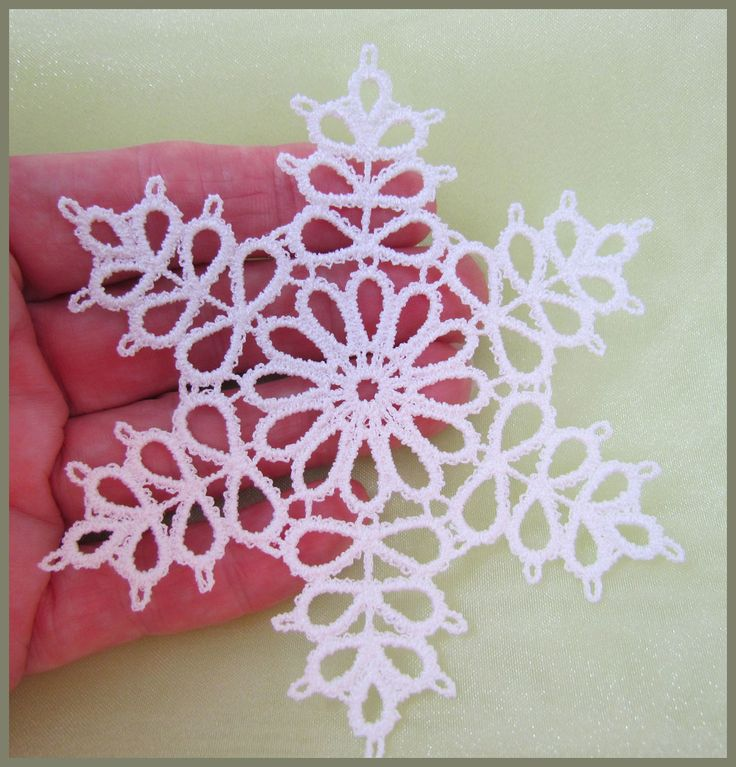 tatting | Tatting 76 - Snowflake Tatting Designs by Murphy's Designs. So pretty
