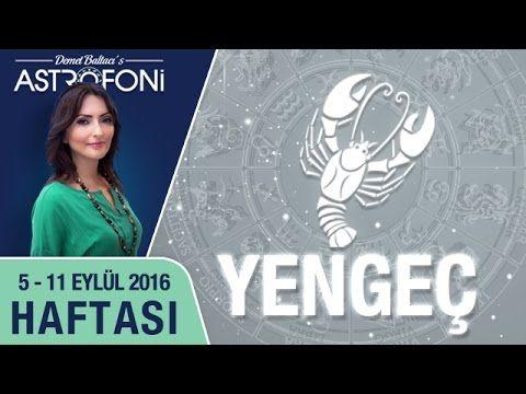 YENGEÇ burcu haftalık yorumu 05 - 11 Eylül 2016