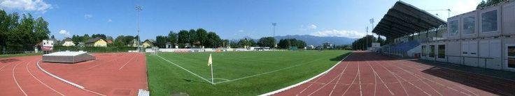 Stadion Lind in Villach, Ktn.