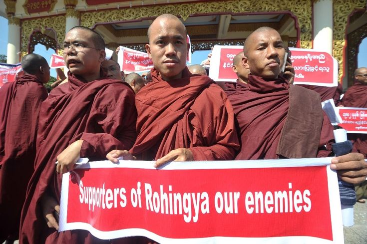 Rise of violent Buddhist rhetoric in Asia defies stereotypes  Hong Kong (AFP)  Buddhism may be touted in the West as an inherently peaceful philosophy but a surge in violent rhetoric from small but increasingly influential groups of hardline monks in parts of Asia is upending the religions tolerant image.  Buddhist mobs in Sri Lanka last week led anti-Muslim riots that left at least three dead and more than 200 Muslim-owned establishments in ruins just the latest bout of communal violence…