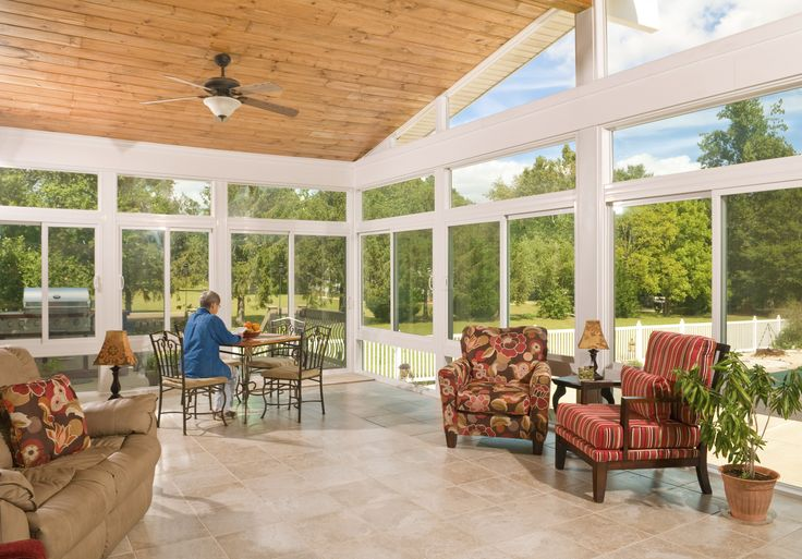 Custom Design Your #sunroom To Have All The Bells And Whistles! Here Are A  Few Sunroom Accessories That Will Make Your Sunroom Perfectly Personalizu2026