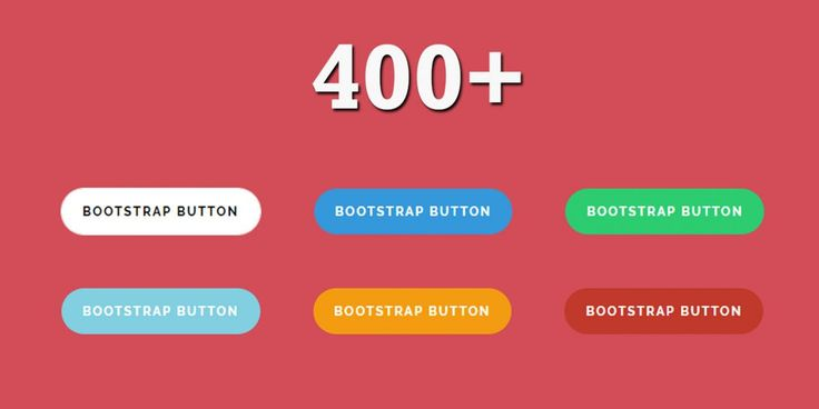 400  Bootstrap Buttons Design Code Snippet