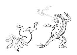 「鳥獣戯画」の画像検索結果