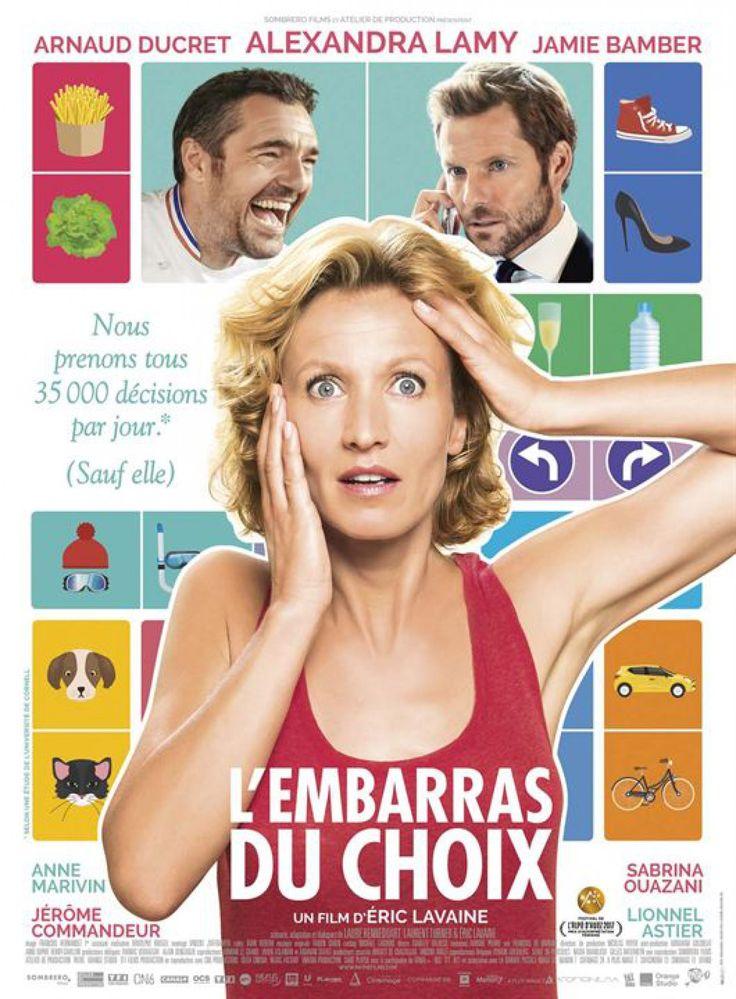 La comédienne vient présenter en exclusivité dans la région le film : « L'embarras du choix »