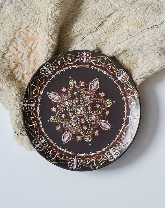 Decorative plate / Point-to-Point ornament Wall by AravindaJewelry