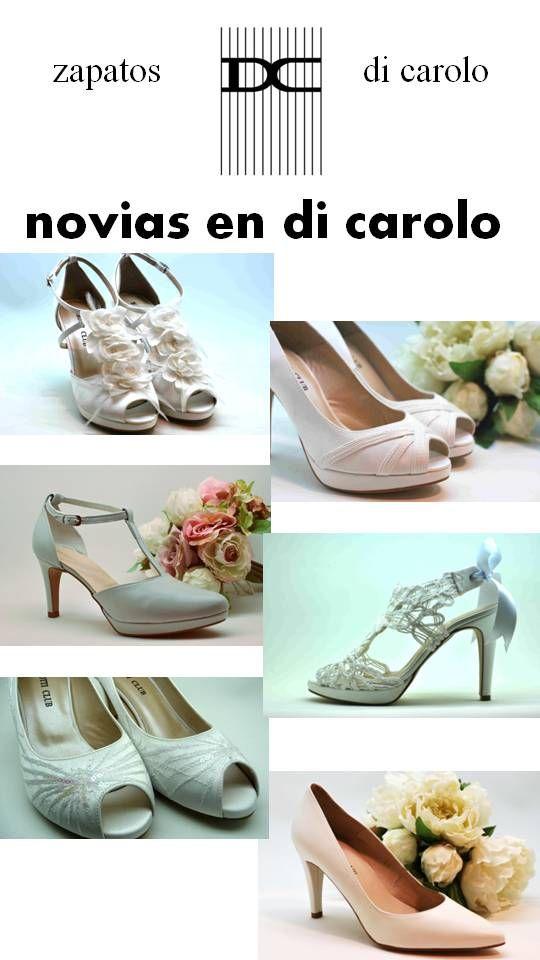 Os presentamos algunos de los zapatos de novia de di carolo. Son bonitos, cómodos y muy especiales!