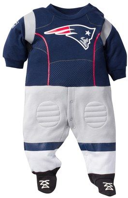 NFL Baby New England Patriots Football Gear Bodysuit