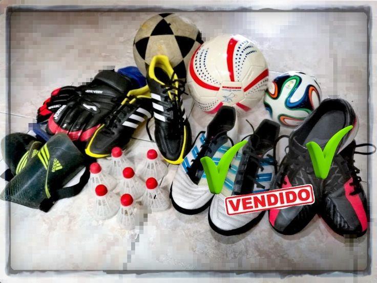 Set de Fútbol. GUAYOS ADIDAS 11pro US 9 1/2$ 100.000 GUANTES ARQUERO$ 50.000 CANILLERAS$ 5.000 BALONES$ 10.000 PINES ENTRENAMIENO - REGALO$ 0 TOTAL$ 165.000 SET COMPLETO PROMOCIÓN: $150.000