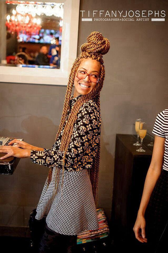 Blonde Crochet Box Braids : Honey blonde twists Braids & Twist Pinterest Hairstyles, Honey ...