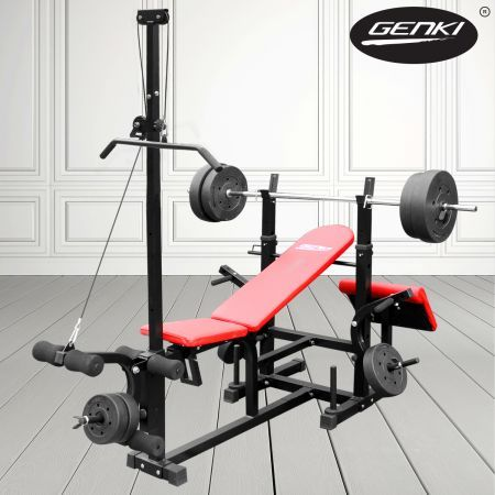 $189.96,Save $109.99 - 180cm x 150cm x 180cm approx  - Save on a Weight Bench and a huge range of Other Exercise Equipment at CrazySales.com.au, Australia's award-winning online shop!