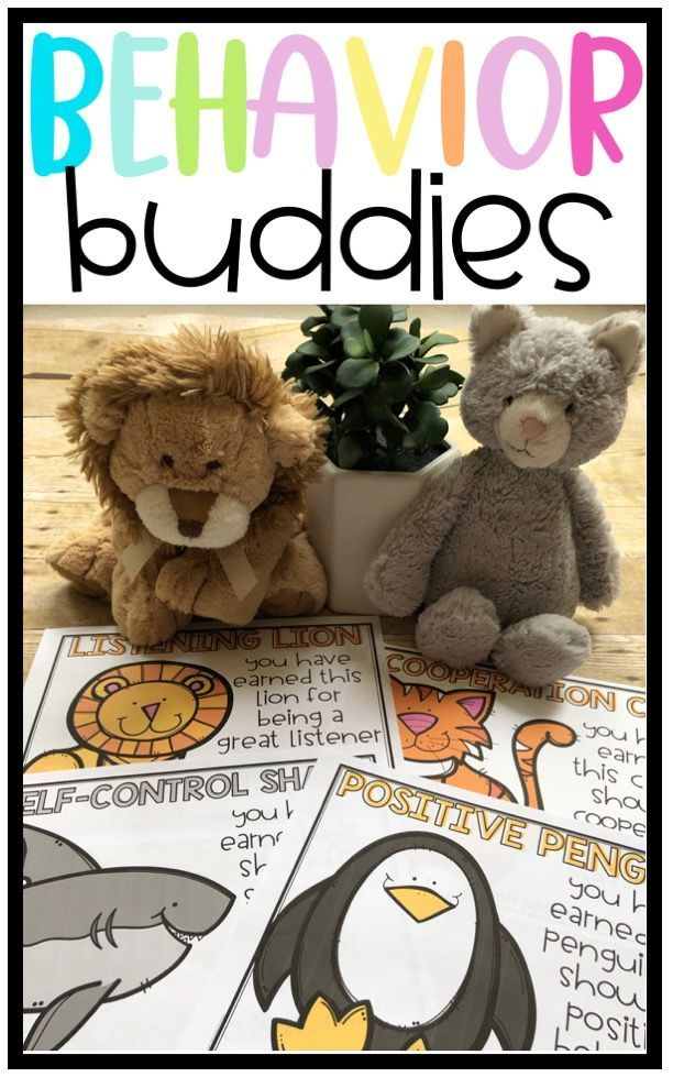 Behavior Buddies: Using Stuffed Animals as a Posit…