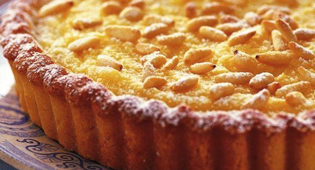 La ricetta della torta al limone e pinoli