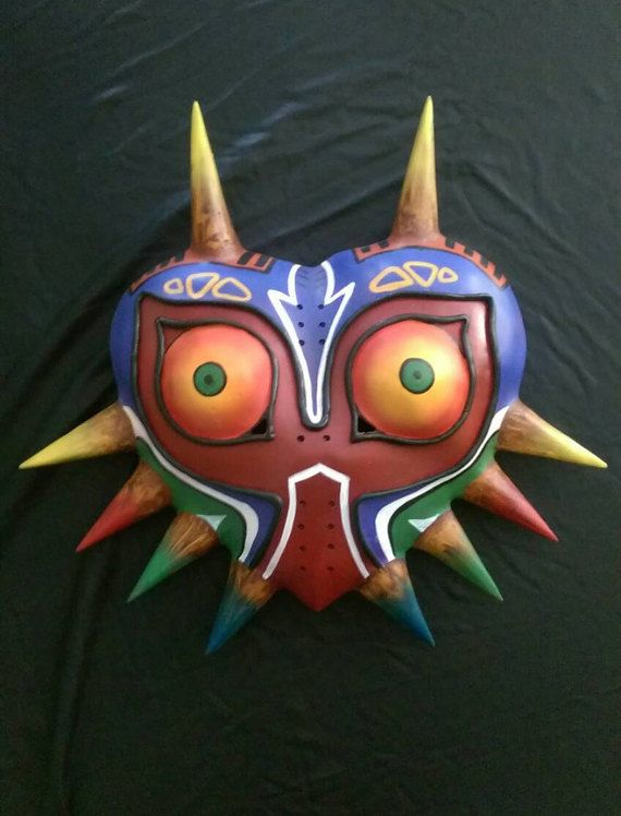 *ORDERS MADE AFTER THE 21ST WILL NOT ARRIVE ON TIME FOR HALLOWEEN* This is a Majoras Mask inspired replica. Detailed to have the most accurate paint