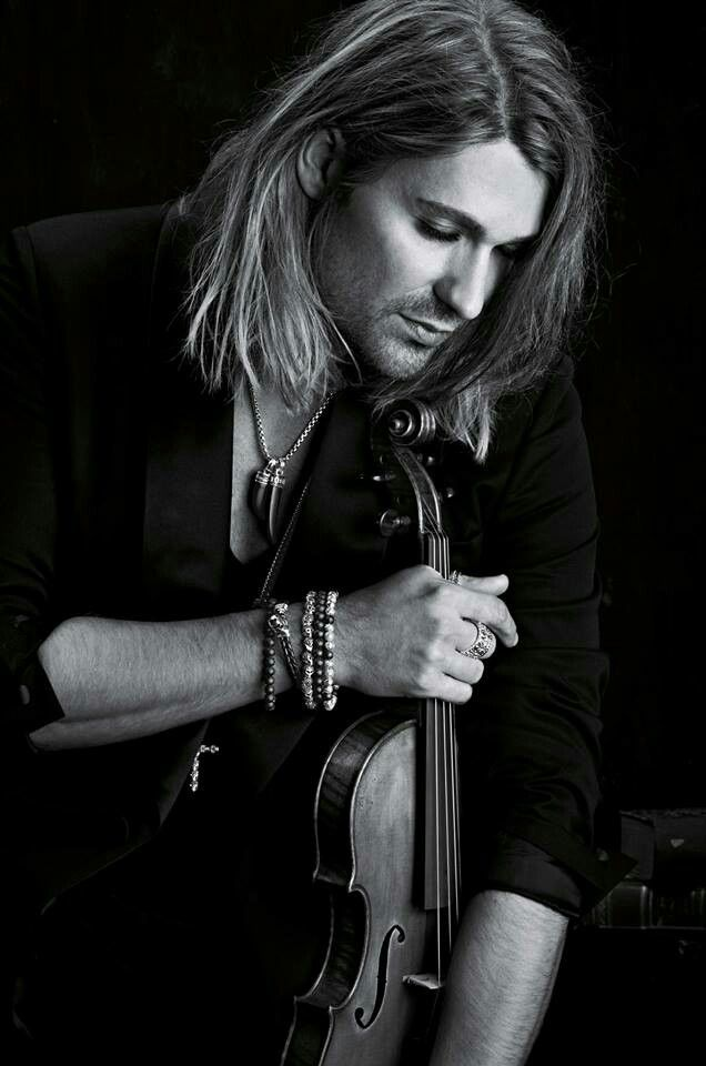 David Garrett is kind of a Johnny Depp of violin