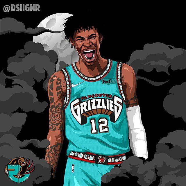 Dsiignr On Instagram Roy Jamorant Memgrizz Nba Art Nba Artwork Nba Wallpapers Basketball wallpapers nba xc 4