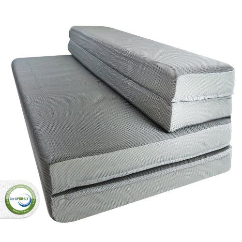 "LUCID® by Linenspa 4"" Folding Foam Mattress + Sofa Style Floor Chair Perfect For Camping - 3-Year Warranty Lucid®,http://www.amazon.com/dp/B00ENUINIO/ref=cm_sw_r_pi_dp_d397sb19RR5Q4X00"