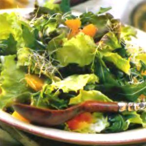 Низкокалорийный салат из авокадо