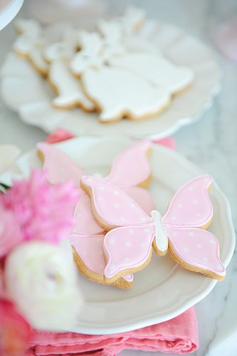 Butterfly Cookies // Photo by Tracey Ayton