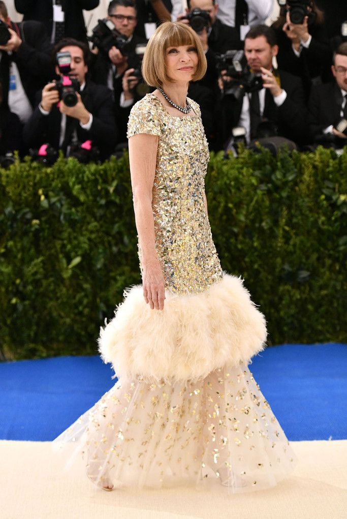 Anna Wintour in Chanel / Met Gala 2017