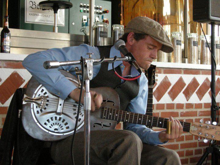 Tim Lothar  stor Blues- musiker