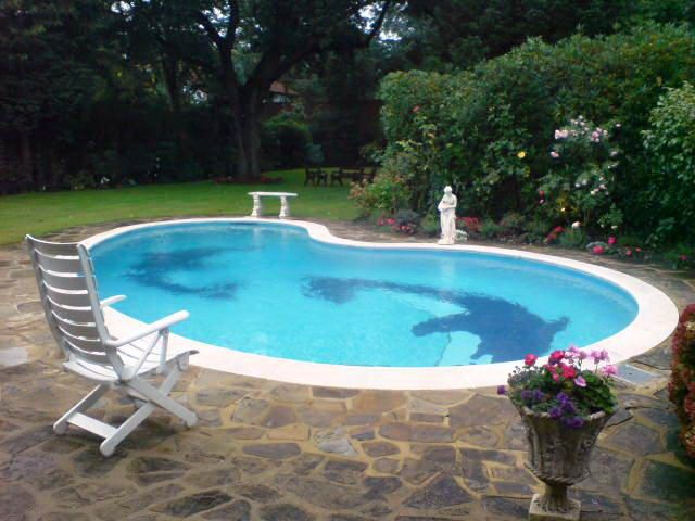 25 best ideas about portable swimming pools on pinterest for Portable pool
