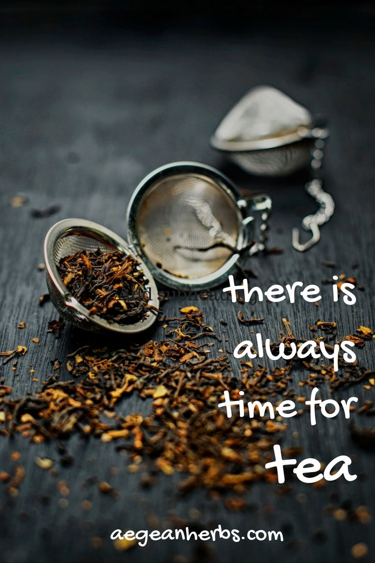there is alway time for tea!