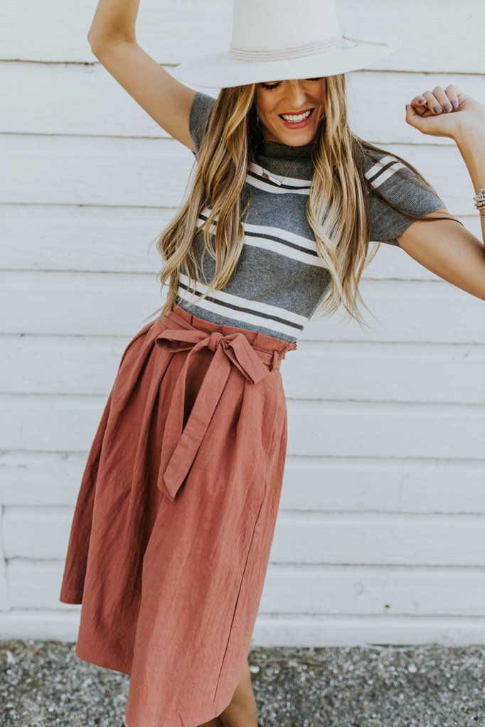 Amira Tie Skirt 1
