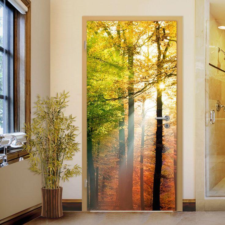 24 best nalepke za vrata images on pinterest cola eye for Door wall mural