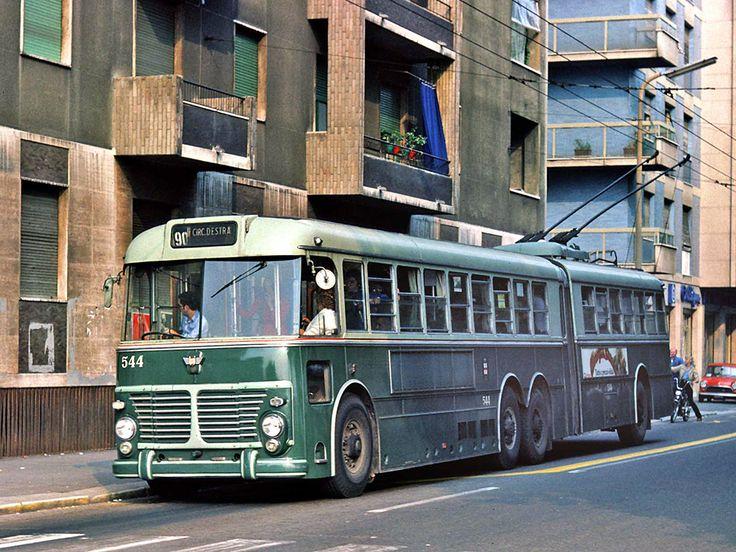 FIAT 2472  Viberti  filobus