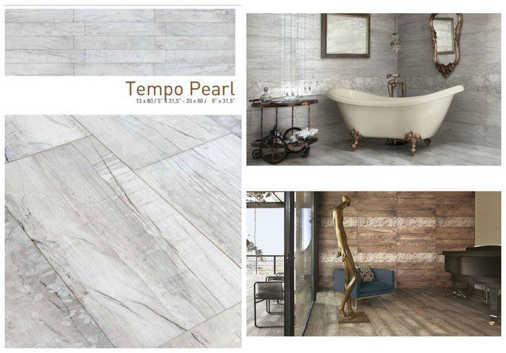 Imitation Wood Tiles, Granite. Tempo 13 x 80cm & 20 x 80cm.