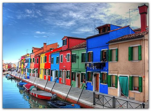 burano, Italy: Burano Islands, Italian Houses, Favorite Places, Northern Italy, Vibrant Colors, Burano Italy, Colors Houses, Venice Italy, Paintings Houses
