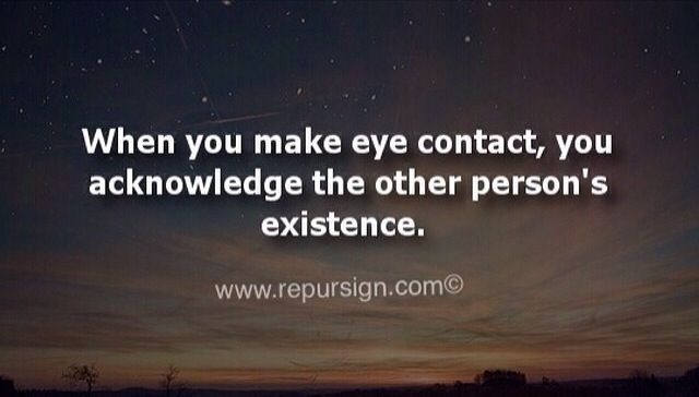 Best 25+ Eye Contact Quotes Ideas On Pinterest
