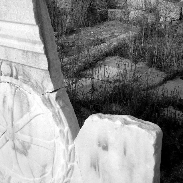 Ancient Fragments I, Copyright © 2009 Amalia Raptopoulou (Greece), All rights reserved.