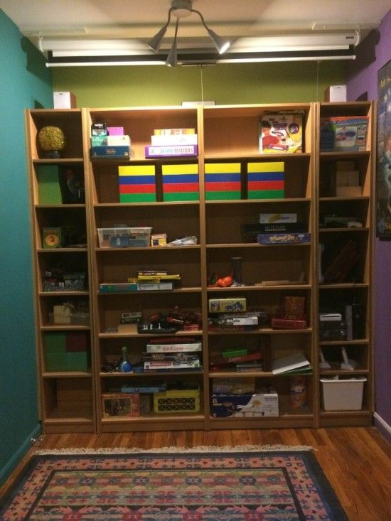 Brilliant! BILLY Bookcases transform into Murphy Bed - IKEA Hackers