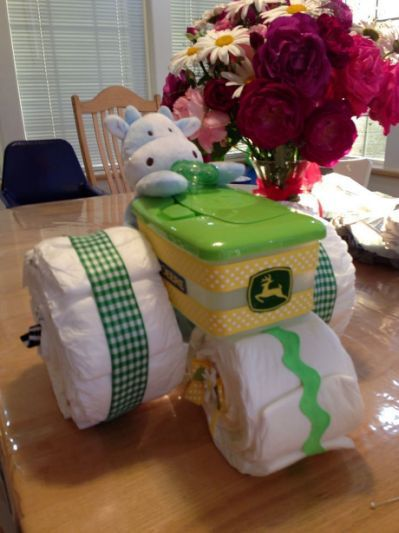 about Diaper Tractor on Pinterest