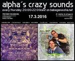 alpha.s crazy sounds - mar 17 -20:00-22:00cewt - VA TECHNO SHAMANS (popol vuh) + -Z- (alpha & antagon) live SOULVISION festival, brazil, part2 -> www.babaganousha.net + www.boomfestival.org - Germany - tribe.net