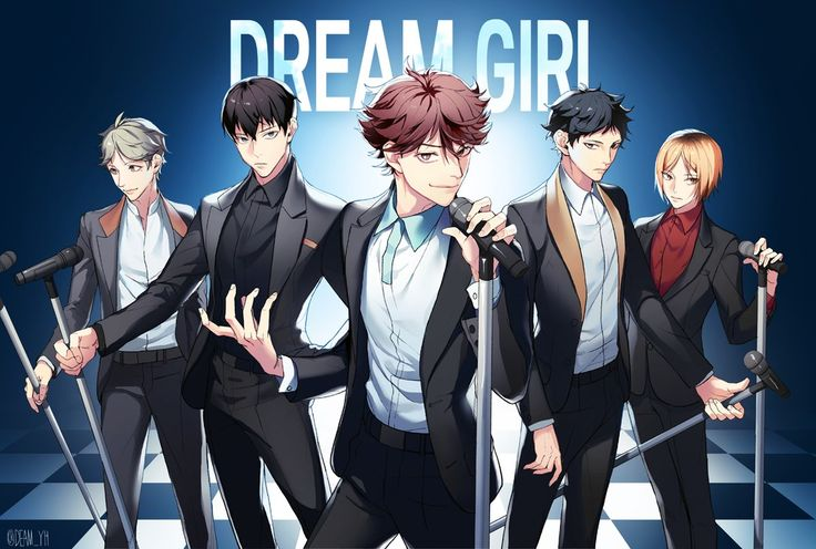 Dream Girl Haikyuu ver XP