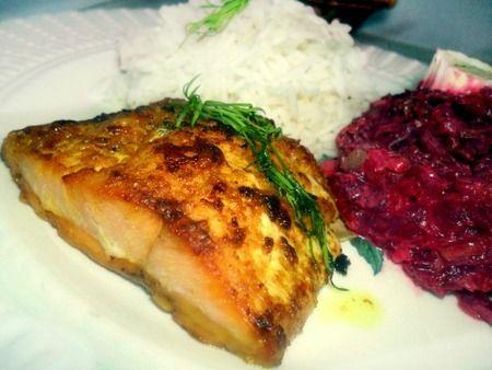 Recette saumon au beurre d'épices douces, cuisinez saumon au beurre d'épices douces
