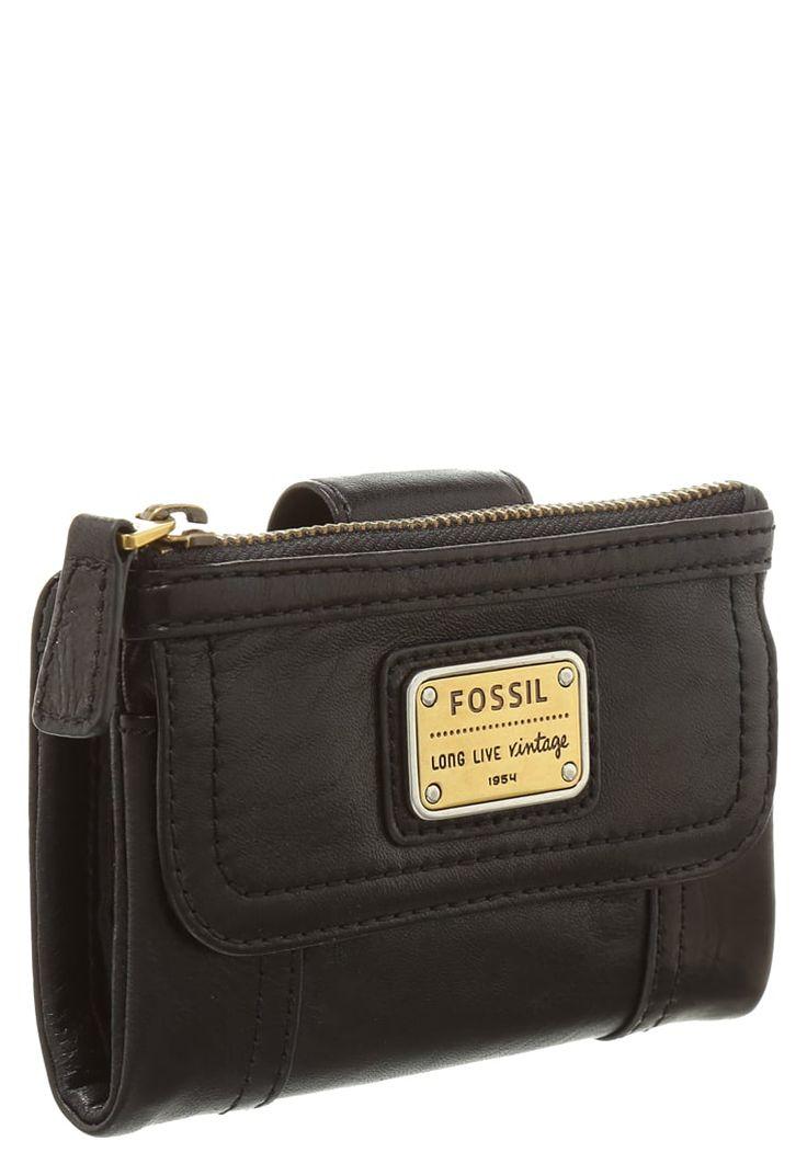 Portemonnees Fossil Portemonnee - black Zwart: 59,95 € Bij Zalando (op 8/04/16). Gratis verzending & retournering, geen minimum bestelwaarde en 100 dagen retourrecht!