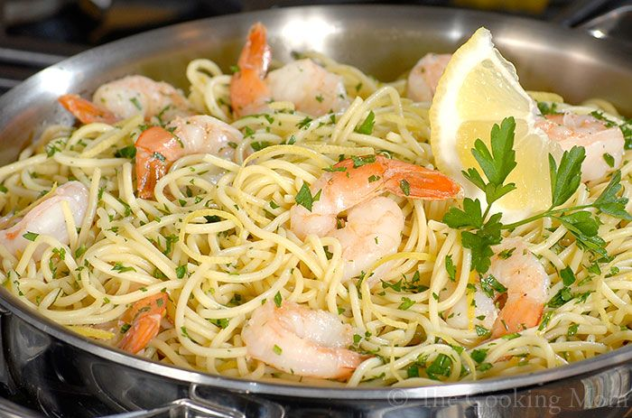 Shrimp and Artichoke Scampi | The Cooking Mom