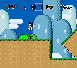SNES - super Mario world!