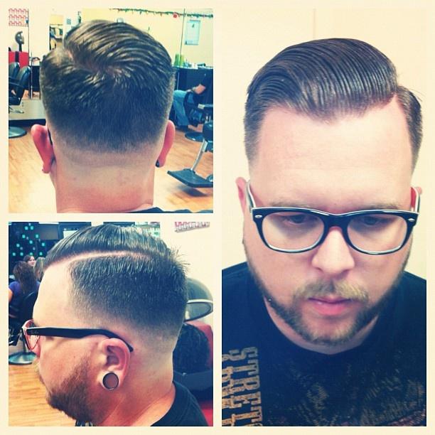 ... #beautyschoolbros #razorpart #taper #pomp #pompadour #psctcobnbd  #dapper #fade #fresh #gent #gentlemenscut #haircut #hardline #classy # Combover #beard ...